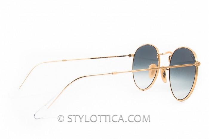 ray ban round metal 3447 n sunglasses