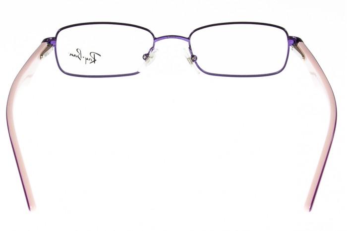 Dettagli su Ray Ban per Bambini Violetto Metallo Occhiali da Vista Montature Rb1027 4010