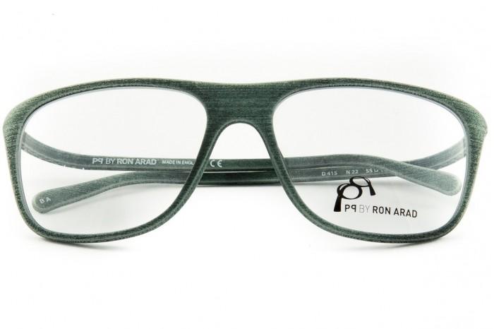 e334d90d62 PQ by Ron Arad очки d415 n22 зеленый