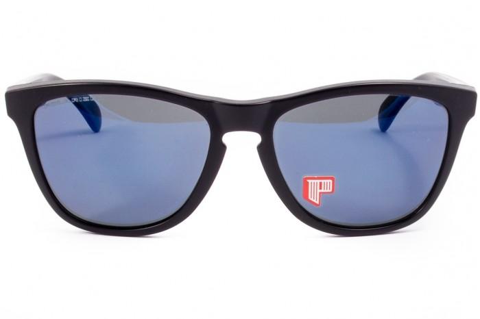 taglia 40 f892f 0bfe9 Occhiale da sole OAKLEY Frogskins Matte Black Polarized 24-403