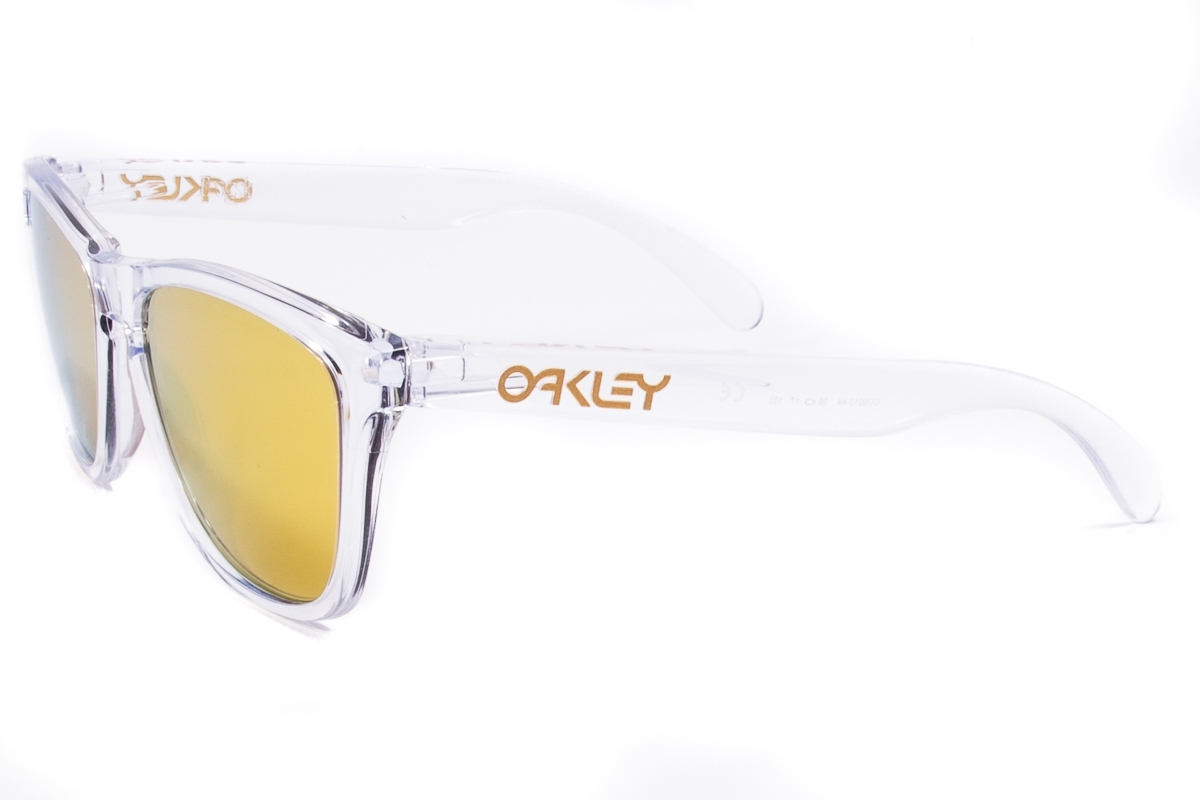 2797fdaccb ... Sunglasses OAKLEY Frogskins Polished Clear OO9013-A4. Reduced price.  Previous