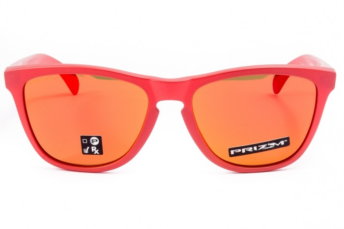 Sunglasses OAKLEY Frogskins IR Red...