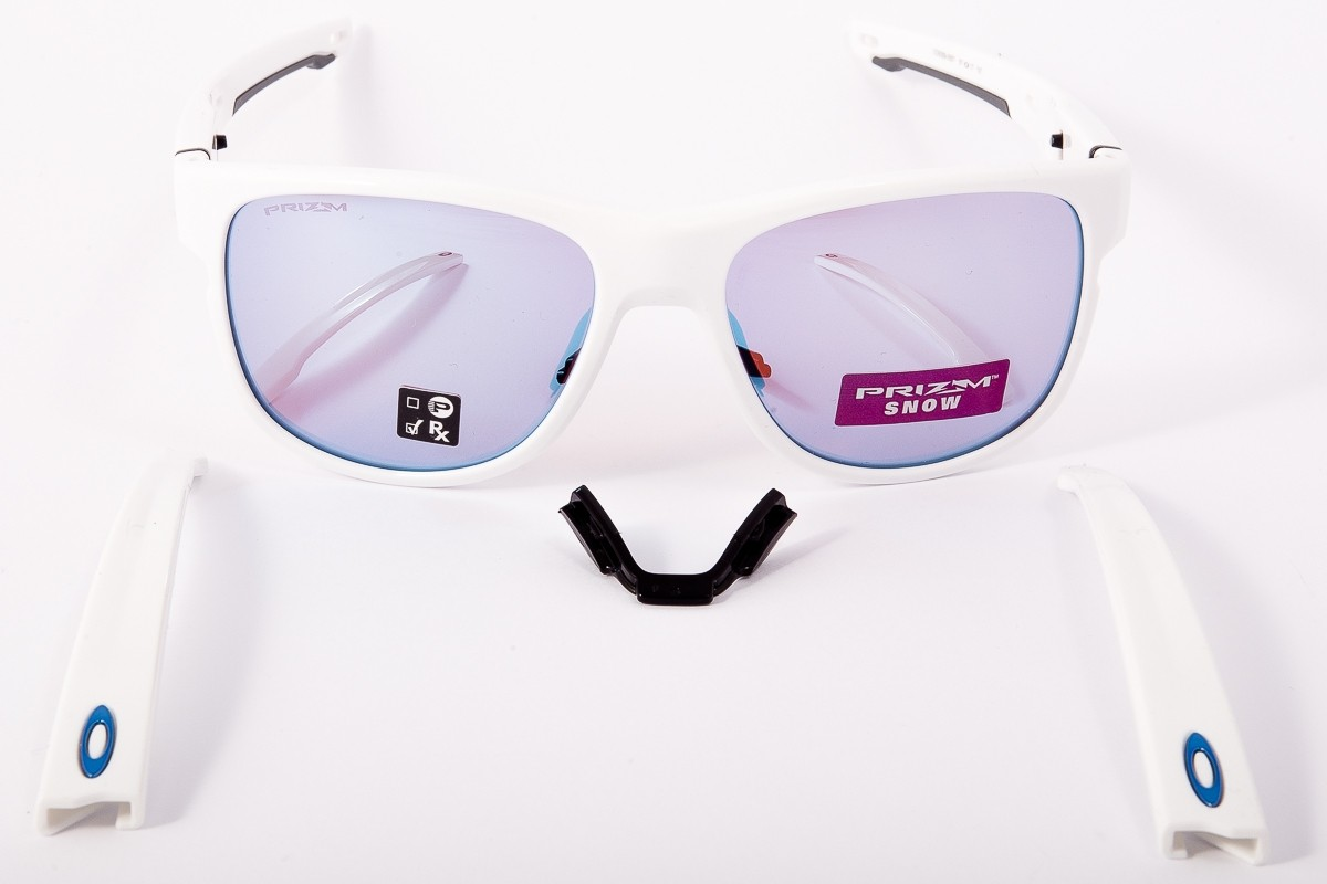 64a6fc3f453d2 ... Sunglasses OAKLEY Crossrange R Polished White Prizm OO9359-0557.  Reduced price. Previous. Next
