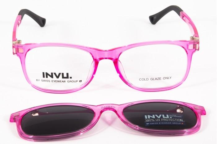 Kids Eyeglasses INVU g4805c  sun
