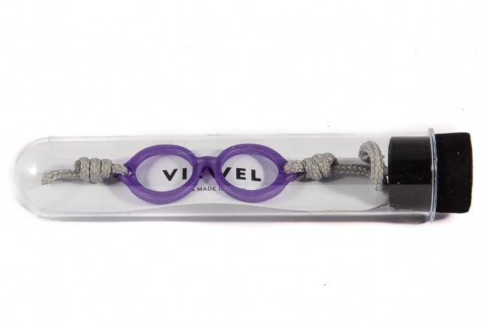 Braccialetto VIEWEL round purple