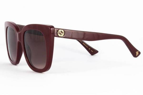 9fa04ac1aec43 GUCCI Sunglasses GG0163S 007 cat eye shape 2019 Collection
