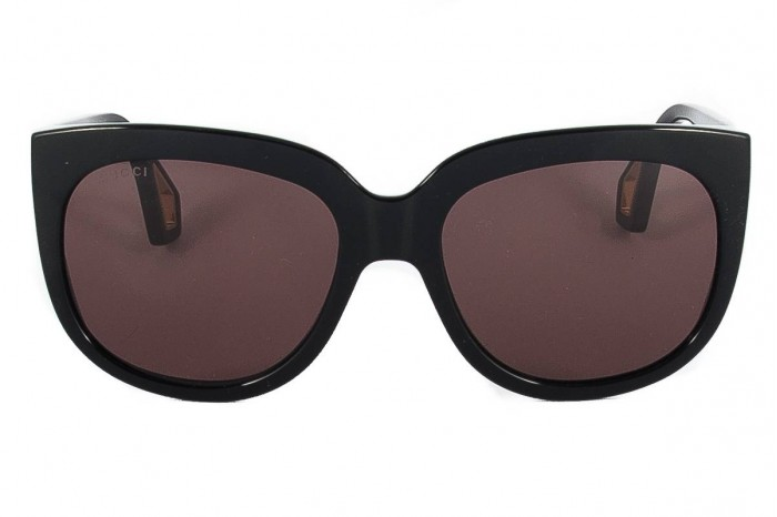 5243852b9a6 GUCCI Black sunglasses GG0468S 001 neri 2019 Collection