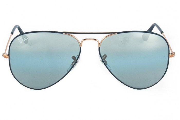 taglia 7 più economico scarpe casual Occhiale da sole RAY BAN rb3025 aviator large metal 9156 aj ...